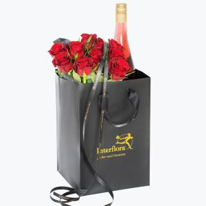 10 Red Roses With Cider